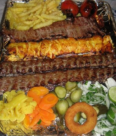 Kebabs in Iran