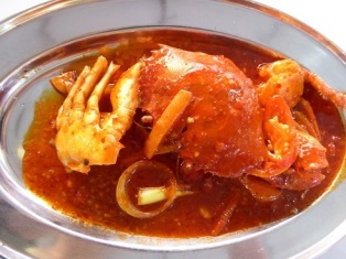 Crab in Malaysia